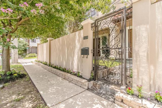 1635 Hazel Street, Houston, TX 77006 (MLS #61217941) :: Oscar Fine Properties