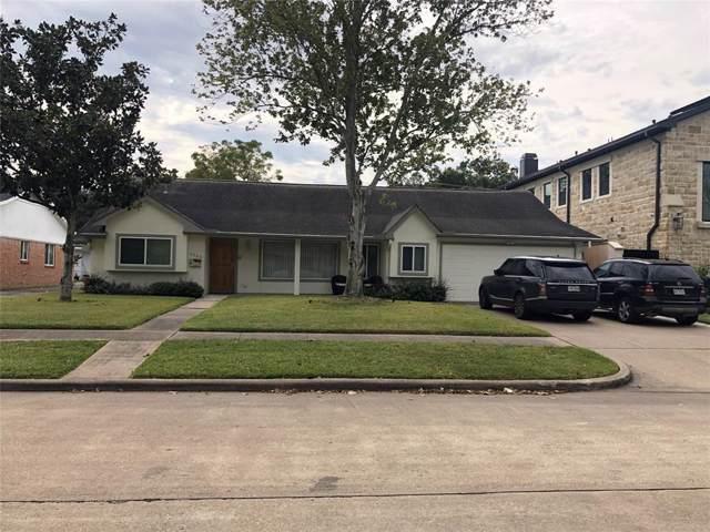 5463 Maple Street, Houston, TX 77096 (MLS #61344453) :: The Parodi Team at Realty Associates