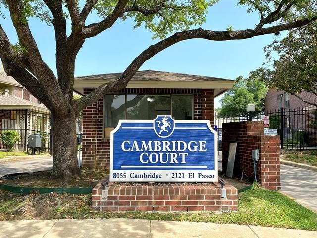 2121 El Paseo Street #1308, Houston, TX 77054 (MLS #61507722) :: Giorgi Real Estate Group