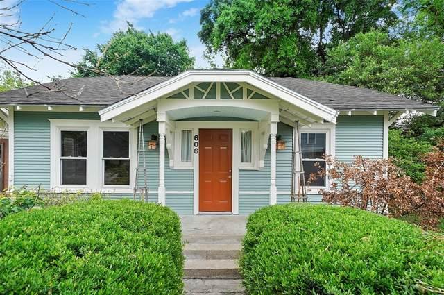 606 Tabor Street, Houston, TX 77009 (#61564036) :: ORO Realty
