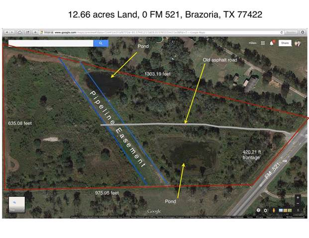 0 Fm 521, Brazoria, TX 77422 (MLS #61659865) :: TEXdot Realtors, Inc.