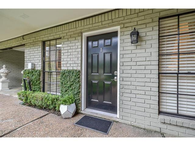 3402 Garrott Street #1, Houston, TX 77006 (MLS #61718955) :: Texas Home Shop Realty