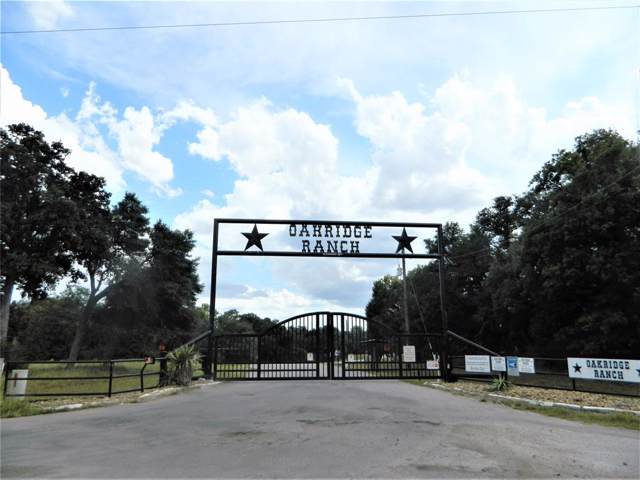 0 Oakridge Ranch Road, Weimar, TX 78962 (MLS #61727357) :: The SOLD by George Team