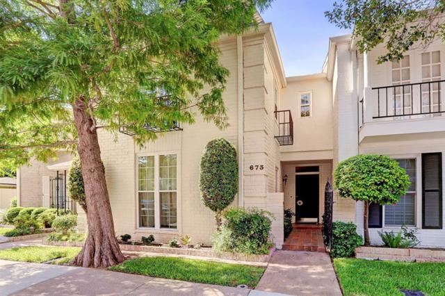 673 N Post Oak Lane, Houston, TX 77024 (MLS #62230115) :: Giorgi Real Estate Group