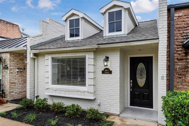 5205 Palmetto Street C, Bellaire, TX 77401 (MLS #62482601) :: The SOLD by George Team