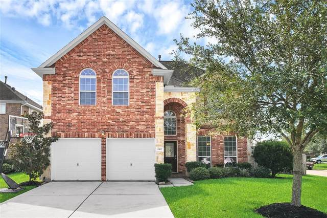 2807 Silhouette Bay Drive, Pearland, TX 77584 (MLS #62552860) :: The SOLD by George Team