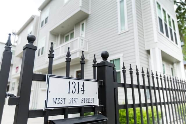 1314 W 21st Street B, Houston, TX 77008 (MLS #62883275) :: Giorgi Real Estate Group