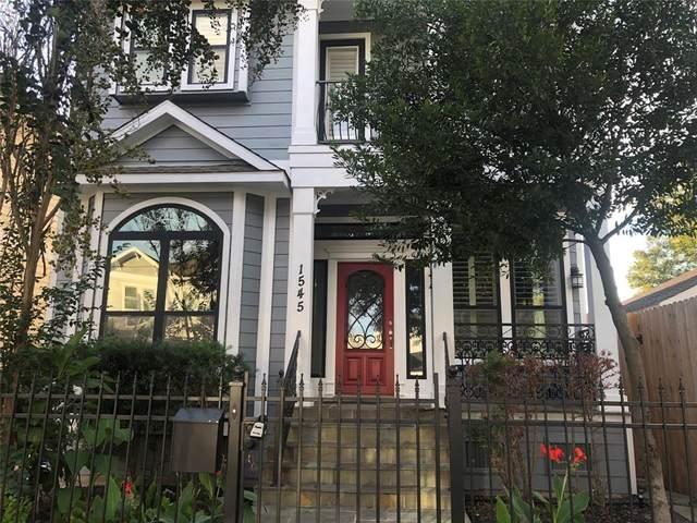 1545 Alexander Street, Houston, TX 77008 (MLS #63074250) :: Caskey Realty
