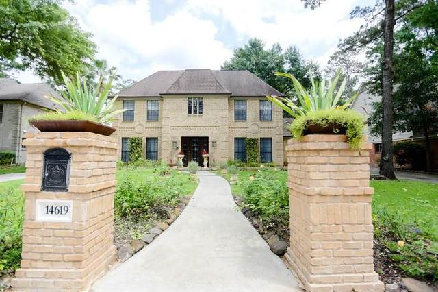 14619 Forest Lodge Drive, Houston, TX 77070 (MLS #63132545) :: The Bly Team