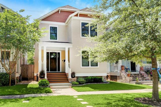 1247 Waverly Street, Houston, TX 77008 (MLS #63398844) :: The Bly Team