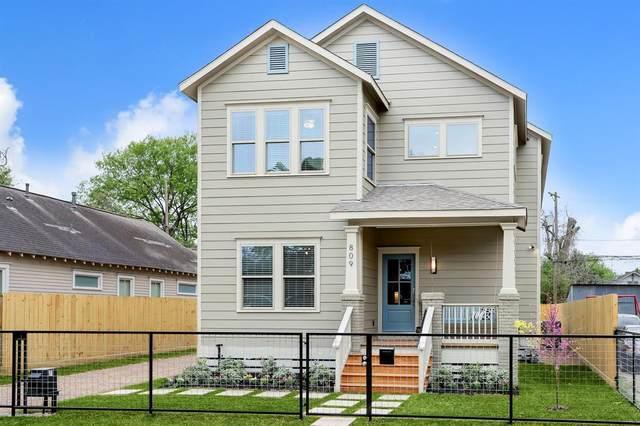 809 Archer Street, Houston, TX 77009 (MLS #63445357) :: Giorgi Real Estate Group