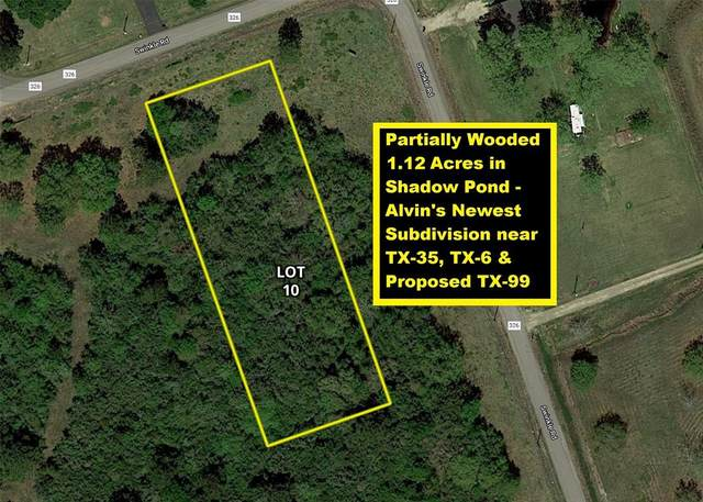 Lot 10 County Road 136, Alvin, TX 77511 (MLS #63936157) :: Connect Realty