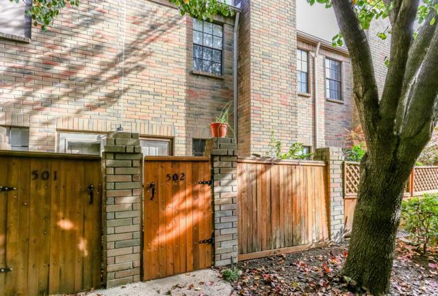 9850 Pagewood Lane #502, Houston, TX 77042 (MLS #6419308) :: Giorgi Real Estate Group
