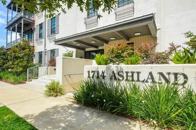 1714 Ashland Street #205, Houston, TX 77008 (MLS #6420344) :: Caskey Realty