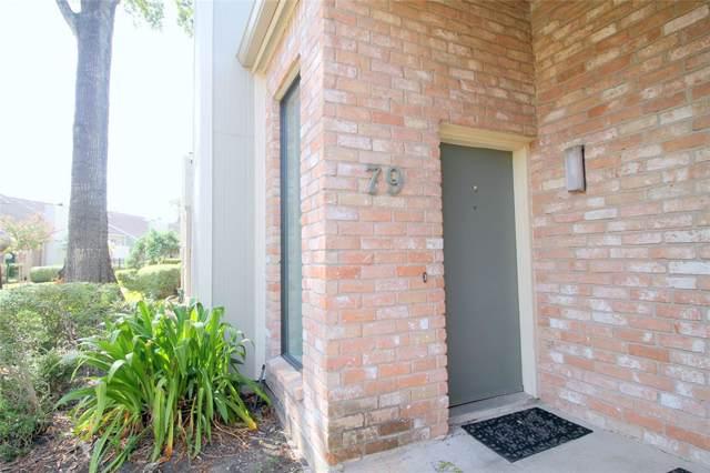8100 Cambridge Street #79, Houston, TX 77054 (MLS #64497962) :: Giorgi Real Estate Group