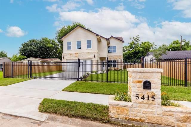 5415 Thrush Drive, Houston, TX 77033 (MLS #64668463) :: The Home Branch