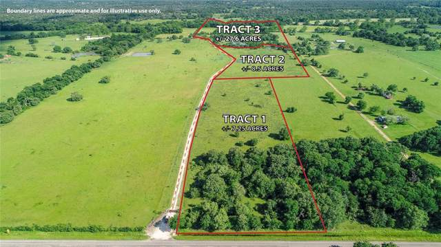 Tract 1(+/-7.25 ACRE Fm 2780, Burton, TX 77835 (MLS #64772533) :: Phyllis Foster Real Estate