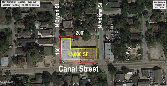 5021 Canal Street, Houston, TX 77011 (MLS #6481831) :: The Heyl Group at Keller Williams
