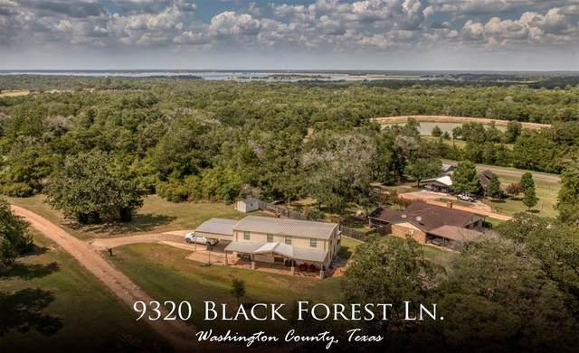 9320 Black Forest Lane, Brenham, TX 77833 (MLS #64919003) :: The Home Branch
