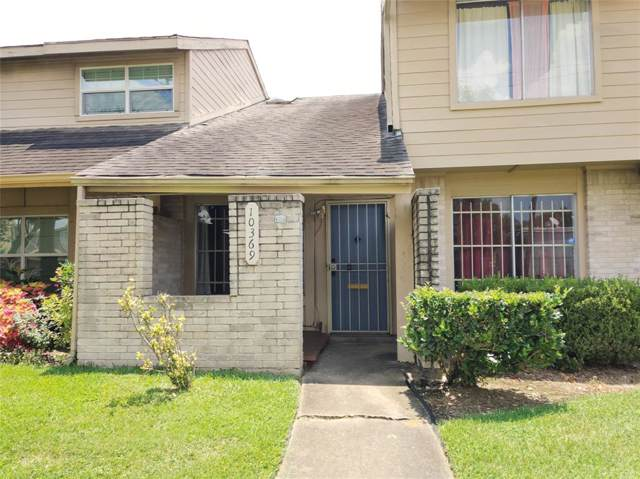 10369 Huntington Place Drive #369, Houston, TX 77099 (MLS #6493948) :: Ellison Real Estate Team