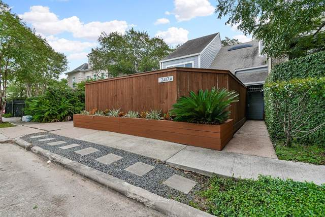2417 Nantucket Drive A, Houston, TX 77057 (MLS #65043114) :: The Jill Smith Team
