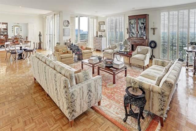 3711 San Felipe Street 15AC, Houston, TX 77027 (MLS #65140808) :: My BCS Home Real Estate Group
