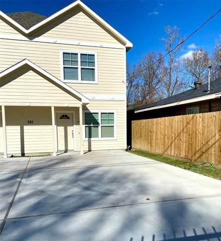 974 Ellington Street B, Houston, TX 77088 (MLS #65237758) :: Lerner Realty Solutions