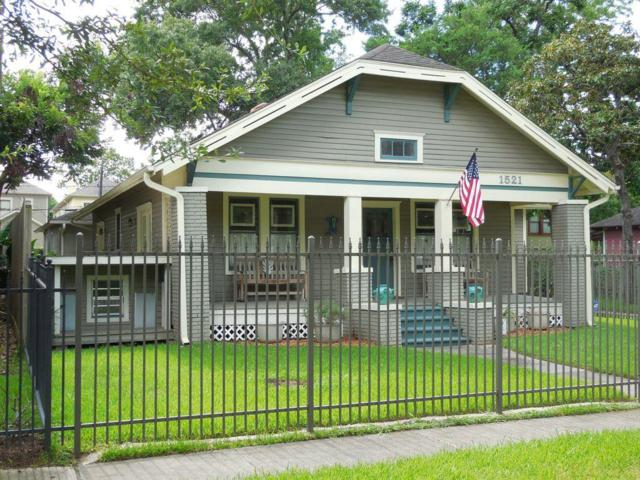 1521 Waverly Street, Houston, TX 77008 (MLS #65869523) :: NewHomePrograms.com LLC