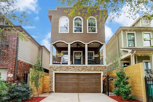 827 W 26th Street, Houston, TX 77008 (MLS #65912485) :: The Bly Team