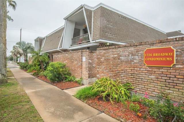 1726 Broadway Street #18, Galveston, TX 77550 (MLS #66033915) :: Texas Home Shop Realty