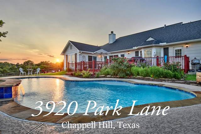 3920 Park Lane, Chappell Hill, TX 77426 (MLS #66103386) :: The SOLD by George Team