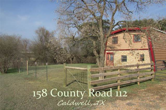 158 County Road 112, Caldwell, TX 77836 (MLS #66200929) :: Texas Home Shop Realty