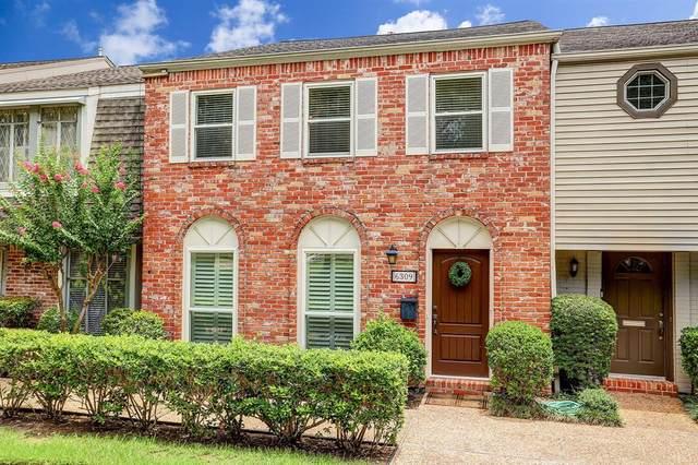 6309 Del Monte Drive #110, Houston, TX 77057 (MLS #66254337) :: Bay Area Elite Properties