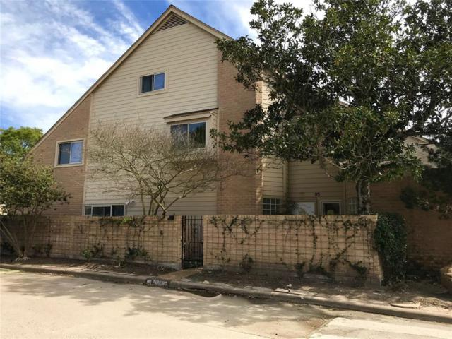 12625 Memorial Drive #95, Houston, TX 77024 (MLS #66363961) :: Texas Home Shop Realty