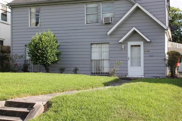 3448 Oakdale Street, Houston, TX 77004 (MLS #66401474) :: NewHomePrograms.com LLC