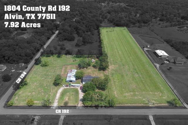 1804 County Road 192 Corner, Alvin, TX 77511 (MLS #66455615) :: TEXdot Realtors, Inc.