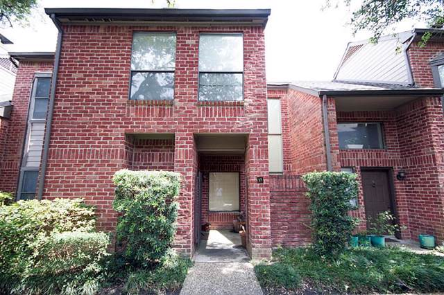 7447 Cambridge Street #17, Houston, TX 77054 (MLS #6655671) :: The Heyl Group at Keller Williams