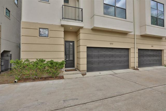 1810 Thompson Street, Houston, TX 77007 (MLS #66569104) :: The Queen Team