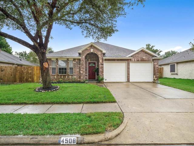4508 Stonebridge Drive, Pearland, TX 77584 (MLS #66733380) :: Phyllis Foster Real Estate