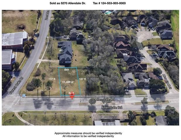 5270 Allendale Road, Houston, TX 77017 (MLS #6695985) :: Michele Harmon Team