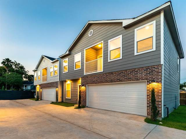 120 Sylvester Road A, Houston, TX 77009 (MLS #67029237) :: The Bly Team