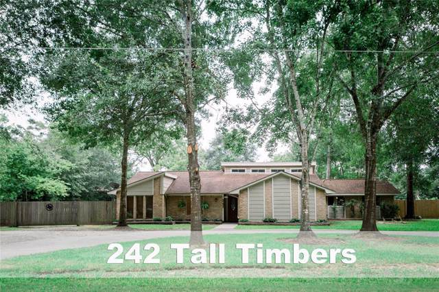 242 Tall Timbers Road, Woodbranch, TX 77357 (MLS #67035761) :: The SOLD by George Team