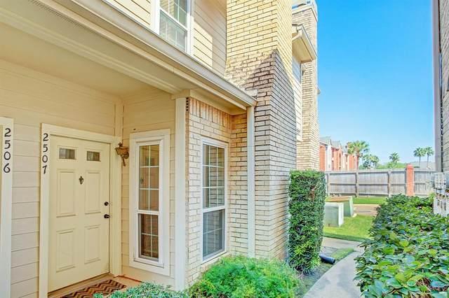 7575 Cambridge Street #2507, Houston, TX 77054 (MLS #6716933) :: Caskey Realty