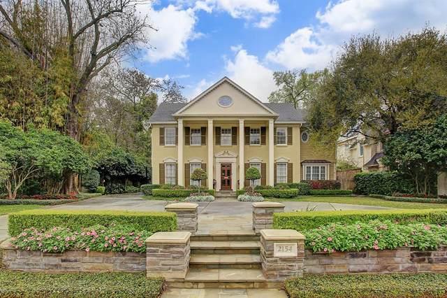 2154 Inwood Drive, Houston, TX 77019 (MLS #67320111) :: Caskey Realty