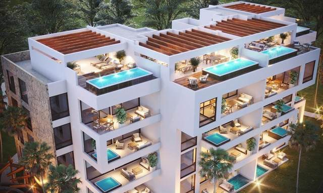 Unit 402 PH Golf Residences At Bahia Principe, The Peninsula 402 E, Tulum Quintana Roo, TX 77780 (MLS #67637957) :: Texas Home Shop Realty