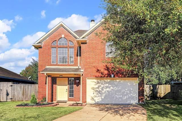 3610 Lochmoor Lane, Pearland, TX 77581 (MLS #67646149) :: Ellison Real Estate Team