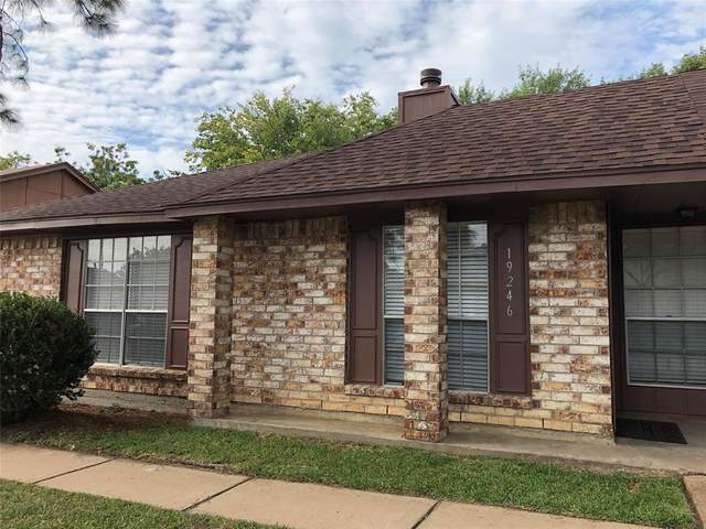 19246 Hollowlog Drive, Katy, TX 77449 (MLS #67905375) :: NewHomePrograms.com LLC