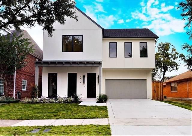 2819 Plumb Street, Houston, TX 77005 (MLS #68167594) :: NewHomePrograms.com LLC