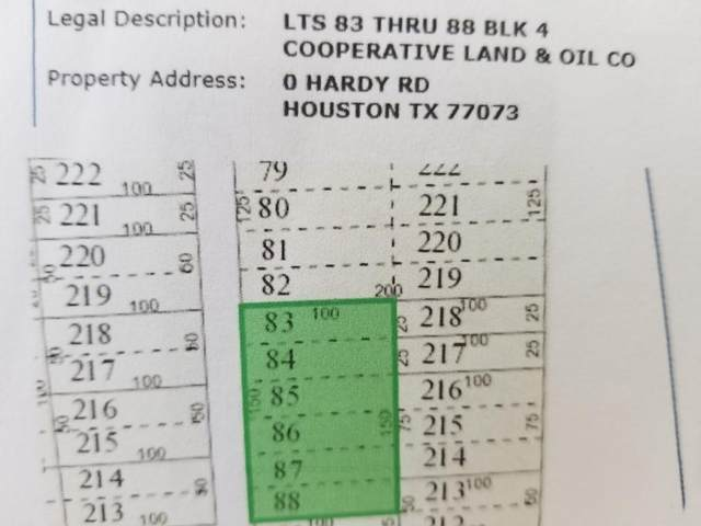 0 Hardy R1 Road, Houston, TX 77073 (MLS #68183879) :: Michele Harmon Team