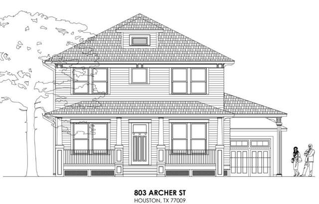 803 Archer Street, Houston, TX 77009 (MLS #68318866) :: CORE Realty